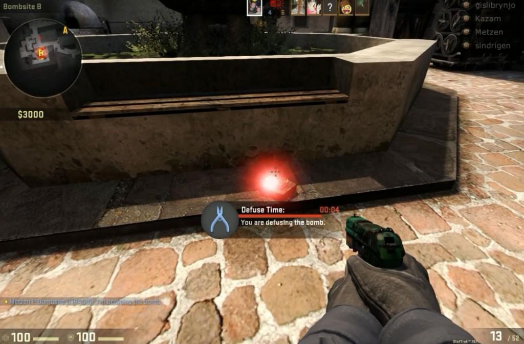 Ninja defuse - Counter-Strike: Global Offensive (CS: GO) Metzen